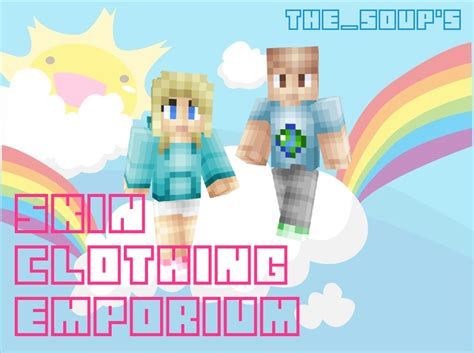 The_soup's Skin Clothing Emporium Minecraft Blog