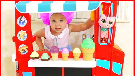 Diana Pretend Play With Baby Dolls, Funny Kids Videos With