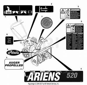 Ariens 932500  000101