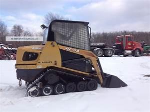 Asv Rc30 Track Skid Steer Loader Skidloader Cab  Cat Engine