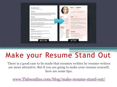 how to make a resume stand out haadyaooverbayresort