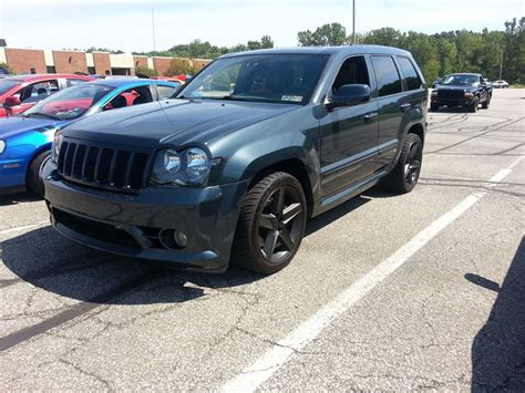 blue jeep grand cherokee srt8 2007 steel blue jeep cherokee srt8 pictures mods