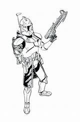 Clone Wars Coloring Trooper Rex Captain Arc Troopers Commander Printable Clipart Getcolorings Starwars Drawings Drawing Colo Getdrawings Clipartmag Library Popular sketch template