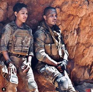 Monster Hunter World Chart Behind The Scenes Pics Of Meagan Good T I And Milla