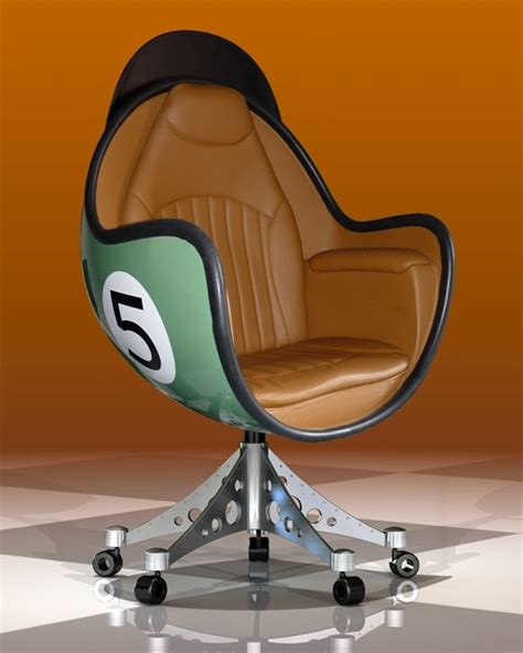 siege en forme de fauteuil bol concept l 39 univers du sport auto ou moto
