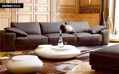 photos canap 233 modulable cuir contemporain roche bobois