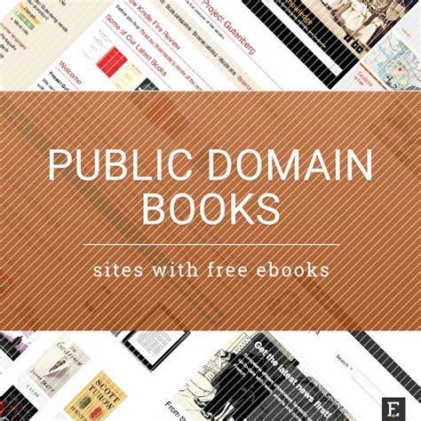 bid websites 25 sources of free domain books
