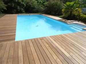 Tour De Piscine Bois : plan terrasse bois sur pilotis 13 pose tour de piscine ~ Premium-room.com Idées de Décoration