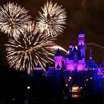 Fireworks Disney Mickey Mouse Disneyland Walt Parks