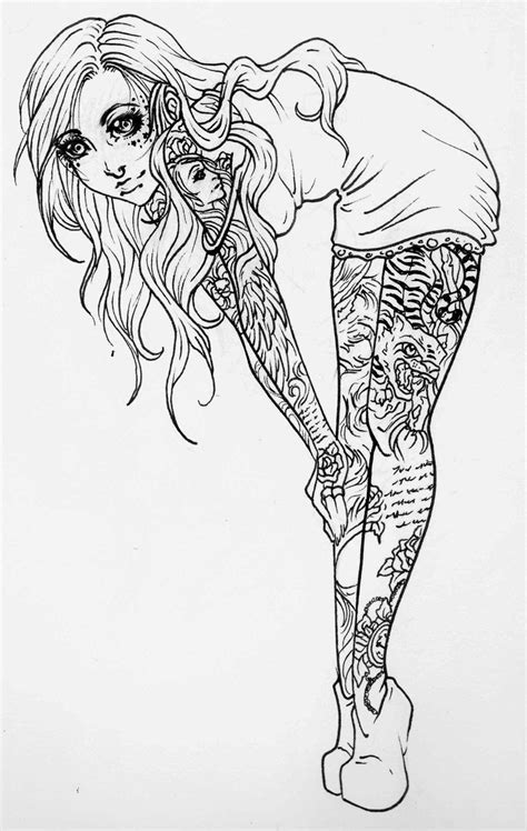 pin up girl tattoo designs - Google Search | Crafts, Crochet and more | Colorin