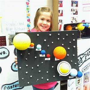 Ms  Robinson U0026 39 S Class   Solar System Projects