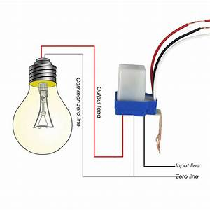 1pc Switch Automatic Auto On Off Photocell Street Light
