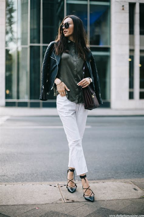 White Cropped Jeans Outfit   Jeans To