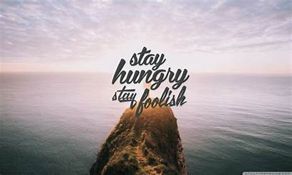 Stay Hungry Foolish Desktop Wallpapers Background Wallpaperswide