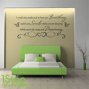Quote wall stickers for bedrooms : Live laugh love wall sticker