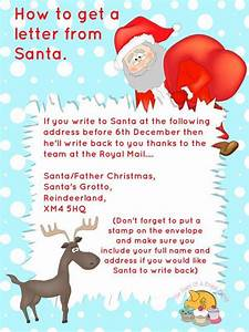 free printables letter to santa templates and how to get With letter back from santa