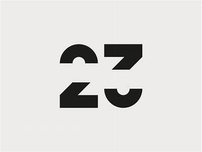 Number Ambigram Golis Jordan Numbers Dribbble Szymon
