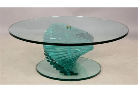 Top 10 Of Spiral Glass Coffee Table