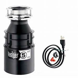 Insinkerator Kitchen Disposal Badger 5