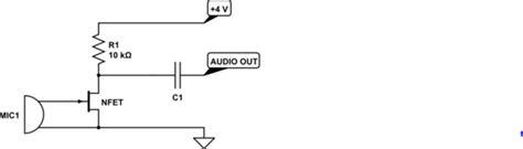 Audio Combining Two Phantom Power Microphone Capsules