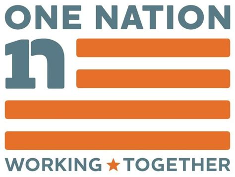 Voice Reporter One Nation Working Together Gathering Momentum