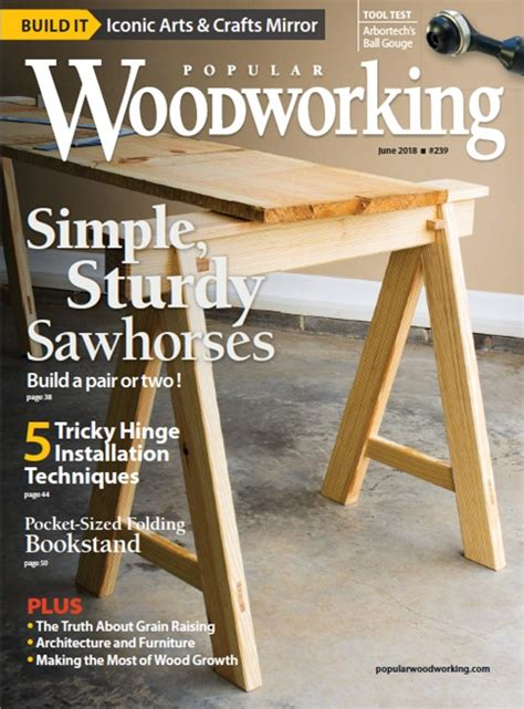 popular woodworking magazine june  digital edition