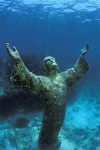 Key Largo Underwater Jesus Florida