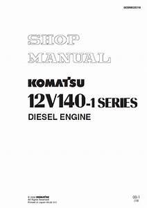 Komatsu Diesel Engine 12v140