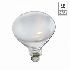 Philips watt volt incandescent br heat lamp