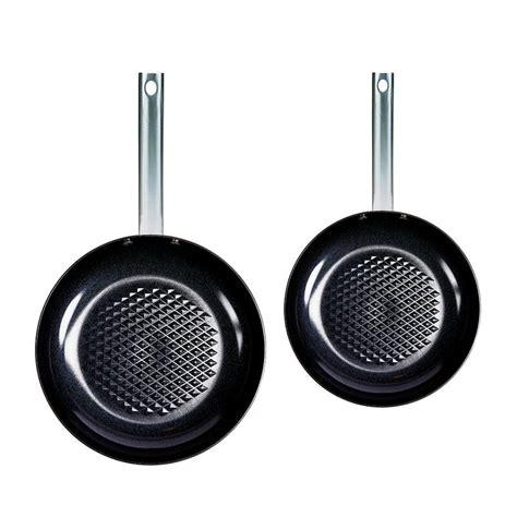 copper chef    aluminum  stick frying pan set reviews wayfair