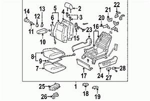 2004 Toyota Sequoia Parts Diagram