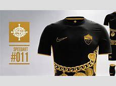 NIKE X VERSACE ROMA FOOTBALL KIT CONCEPT SPEEDART #011