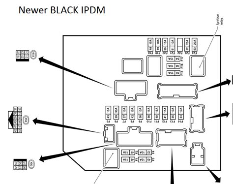 Titan Fuse Box Diagram by Frequently Asked Fuse Locations Nissan Titan Forum