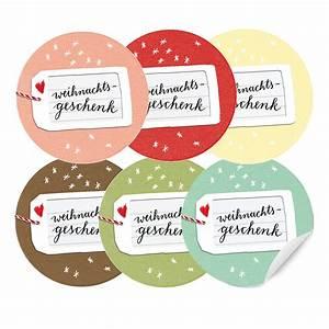 Rundes Geschenk Einpacken : 24 farbige aufkleber f r weihnachts geschenk 40mm matt rund eine der guten papeterie ~ Eleganceandgraceweddings.com Haus und Dekorationen