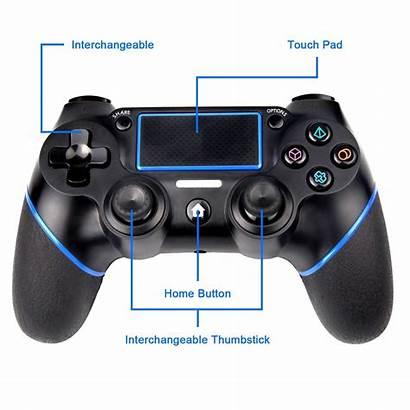 Ps4 Controller Playstation Gamepad Pc Bluetooth Dualshock