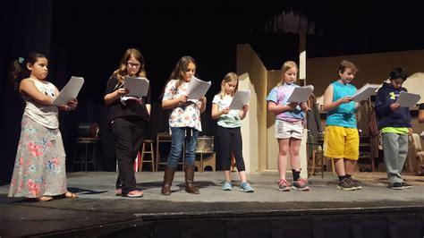 youth acting classes inspire imaginations oglebay institute