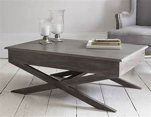 Grey wood coffee table gray set and metal top orlanpress for Gray wood and metal coffee table
