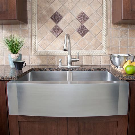 stainless steel farm sinks for kitchens 42 quot optimum 60 40 offset bowl stainless steel 9393
