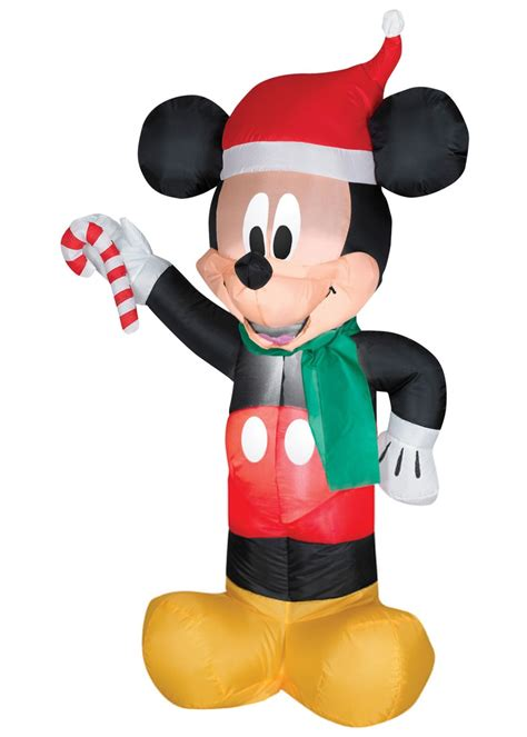 mickey mouse christmas airblown inflatable decorations