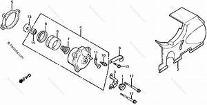 Honda Motorcycle 1986 Oem Parts Diagram For Clutch Slave