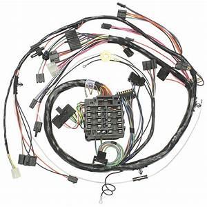 M U0026h 1972 Chevelle Dash  Instrument Panel Harness All  Round