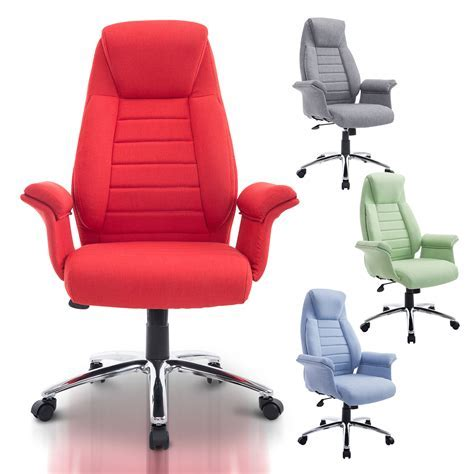 Rolling Executive Chair Office High Back Padded Swivel