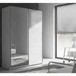 Miroir 180 Cm : best armoire 180 cm blanc brillant miroir achat vente armoire de chambre pas cher ~ Teatrodelosmanantiales.com Idées de Décoration