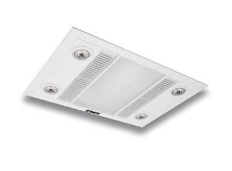 martec linear white led 3 in 1 bathroom heater exhaust fan