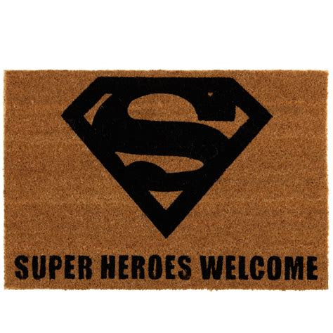 Doormats Uk by Superman Coir Doormat Home Homeware B M