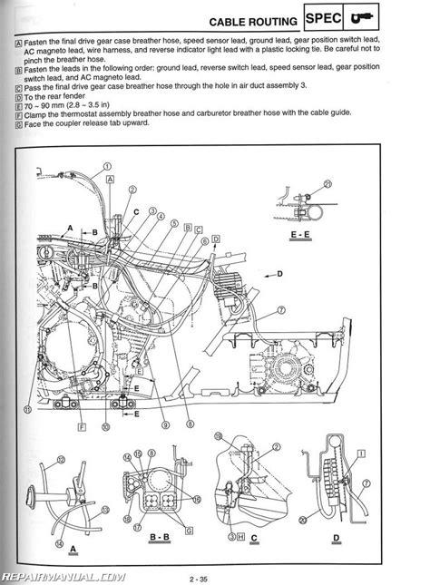2003-2008 Yamaha YFM660FA Grizzly ATV Service Manual by