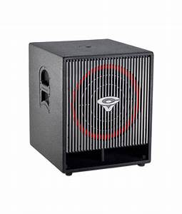 Active High Performance 18-inch Subwoofer - B-stock