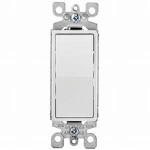 Leviton Decora Plus 15 Amp Switch  White