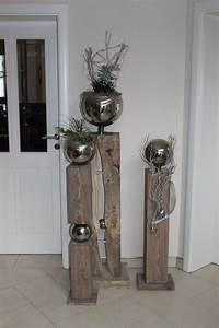 Dekorationen Aus Holz : 95 besten bildern zu deko holzs ulen auf pinterest ~ Yasmunasinghe.com Haus und Dekorationen