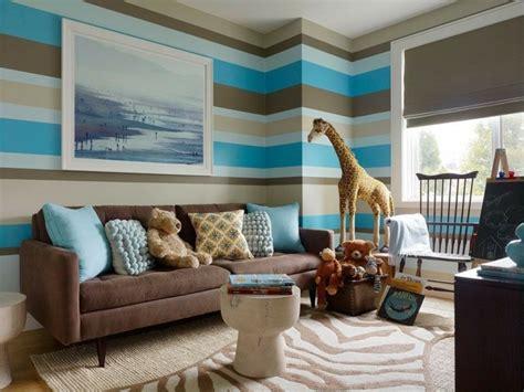 chambre bleu et beige 100 idées comment décorer la chambre des enfants